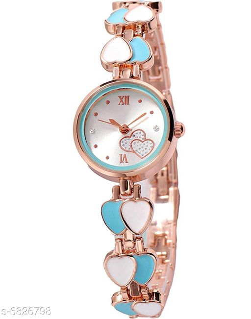 704 NEW ARRIVAL FANCY ANALOG WATCH FOR GIRLS AND WOMEN