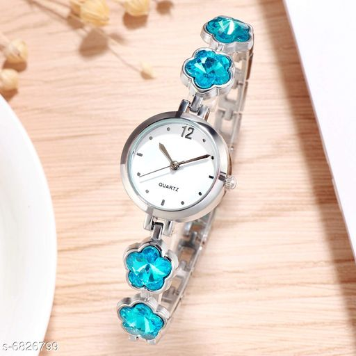 784 NEW ARRIVAL FANCY ANALOG WATCH FOR GIRLS AND WOMEN