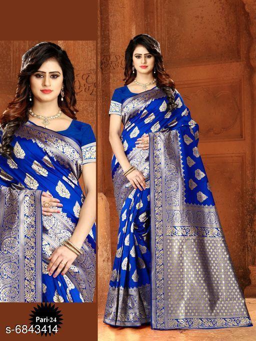 Stylish Banarasi Art  Silk Sarees
