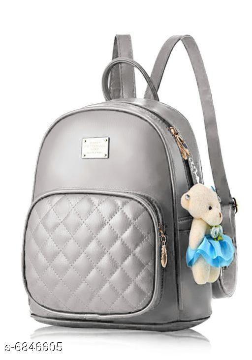 Stylish Women's PU Backpacks