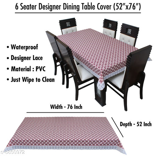 Modern Waterproof Printed Table Cover