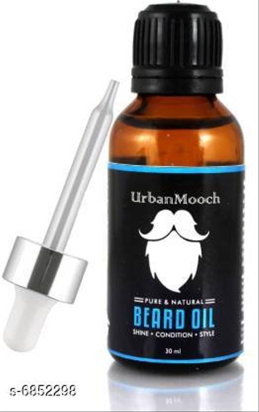 UrbanMooch Advanced Beard Growth Oil & Moustache Growth Oil & Hair Growth Oil With Vitamine-E, Hair Shine Oil-30ML Hair Oil (30 ml) Hair Oil (30 ml)
