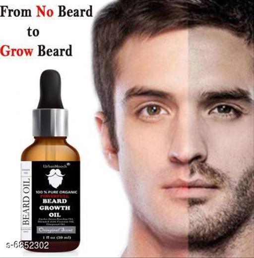 UrbanMooch Powerful Beard Growth Oil Hair Oil (30 ml)