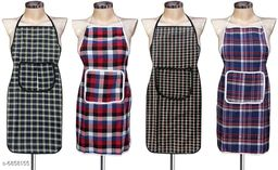 LooMantha Cotton Aprons Pack of 4
