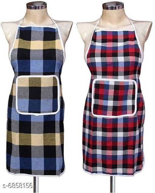 LooMantha Cotton Aprons Pack of 3