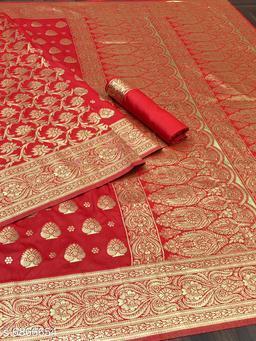 fashion & fashion reach Banarasi zari saree