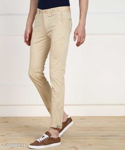 FASHLOOK NEW A CREAM PANT FOR MEN