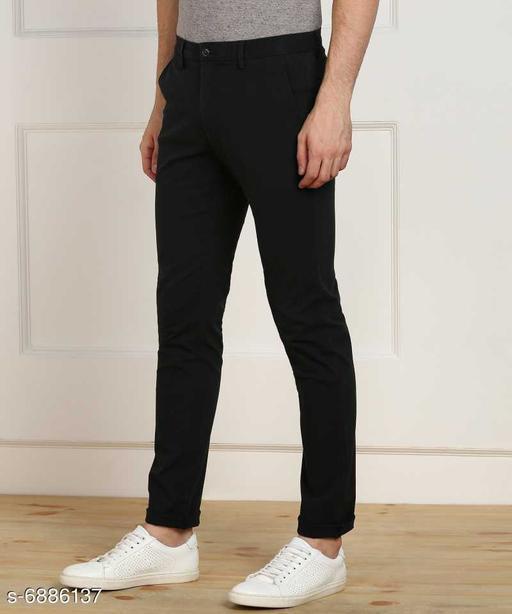 FASHLOOK NEW BLACK PANT FOR MEN