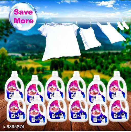 Detergents Detergent   *Product Name* Ushe Matic Detergent  *Product Type* Detergent  *Brand Name* Ushe  *Capacity* 1 Ltr (Each)  *Multipack* 12  *Sizes Available* Free Size *    Catalog Name: Detergent CatalogID_1100860 C89-SC1744 Code: 6332-6895874-