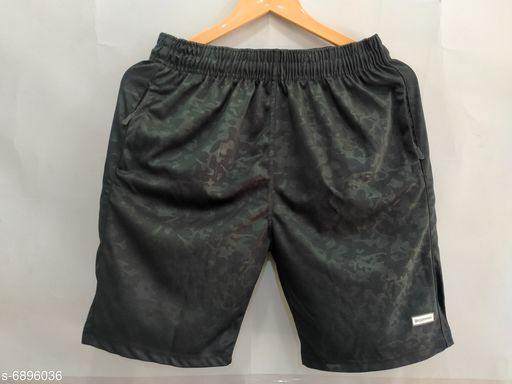 Attractive Dry Fit Polyester Blend Shorts