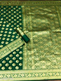 fashion & fashion rich Banarasi zari saree