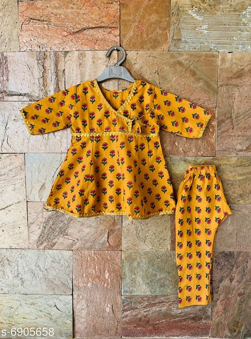 Kurta Sets Doodle Trendy Cotton Anarkali Suit for Girls  Doodle Trendy Cotton Anarkali Suit for Girls   *Sizes Available* 6-12 Months *   Catalog Rating: ★3.6 (125)  Catalog Name: Free Gift Check Out This Trending Catalog CatalogID_1102488 C61-SC1140 Code: 773-6905658-
