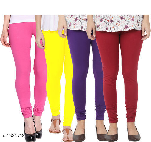 Leggings & Tights  Fancy Fashionista Women Leggings  Fabric: 100% Pure Cotton Lycra Pattern: Solid Multipack: 4 Sizes:  30 (Waist Size: 30 in, Length Size: 40 in)  32 (Waist Size: 34 in, Length Size: 40 in)  34 (Waist Size: 34 in, Length Size: 40 in)  36 (Waist Size: 36 in, Length Size: 40 in)  38 (Waist Size: 38 in, Length Size: 40 in) Sizes Available: Free Size, 28, 30, 32, 34, 36, 38 *Proof of Safe Delivery! Click to know on Safety Standards of Delivery Partners- https://ltl.sh/y_nZrAV3  Catalog Rating: ★3.9 (495)  Catalog Name: Fancy Fashionista Women Leggings CatalogID_1104989 C79-SC1035 Code: 434-6920719-