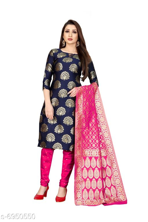 Anand Jacquard Woven Salwar Suit Material (Unstitched)
