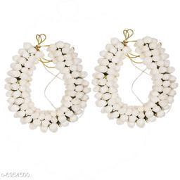 Attractive Women's Multipack White  Floral Gajra Juda Hair Accessories