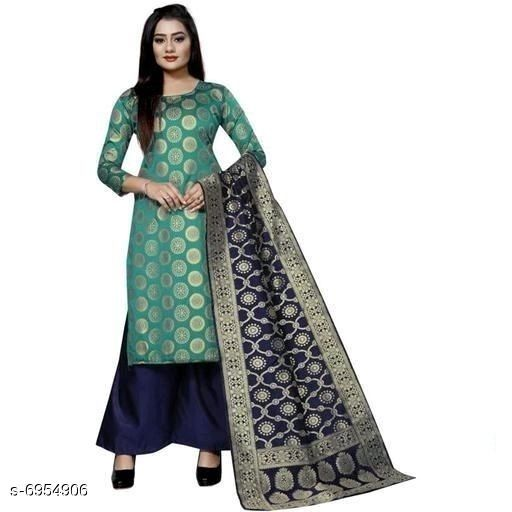 New Trendy Women's Suits and Dress Materials