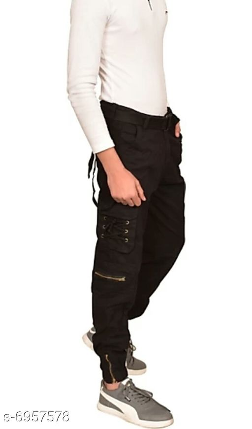 Attractive Cargo Cotton Pants
