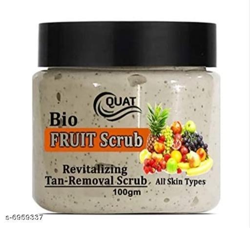 bio fruit scrub