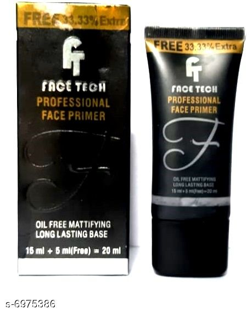 Face Face Tech Professional Face Primer 20ML (Pack Of 1)  *Product Name* Face Tech Professional Face Primer 20ML (Pack Of 1)  *Brand Name* Face Tech  *Type* Cream  *Multipack* 1 Face Tech Professional Face Primer 20ML (Pack Of 1)  *Sizes Available* Free Size *    Catalog Name: Face Tech Sensational Mattifying Primer CatalogID_1113572 C51-SC1241 Code: 602-6975386-
