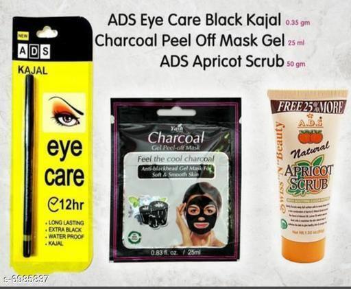 ADS PILA PATTA 1+CHARCOL PAUCH 1 + APRICORT SCRUB 1