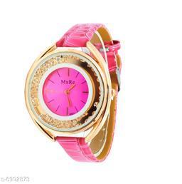 JM Maxre Pu Leather Belt Ladies Watch