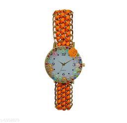 JM New V3 Orange Bracalet Watch