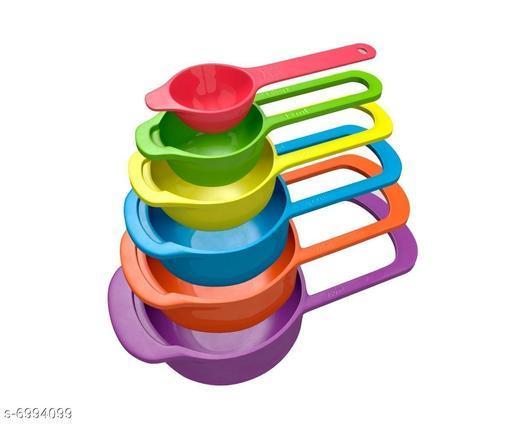 6pc Coloreful Premium Quality Measuring Spoon