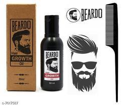 Beardo Hair Growth Hair Oil  (50 ml),Hair Comb