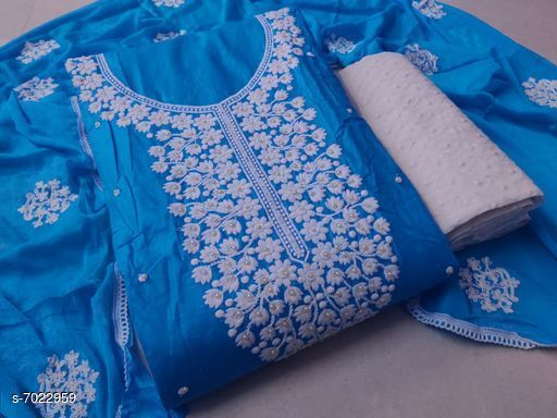 EMBROIDERY WORK SUIT.