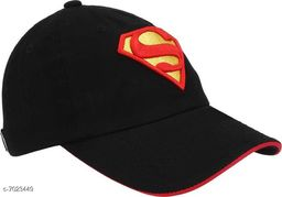 Superman cap for men and women with embroided superman logo