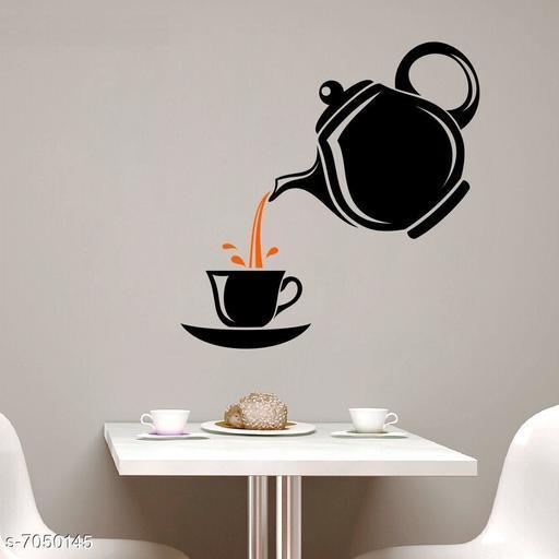 Sticker Studio Tea Cup Wall Sticker