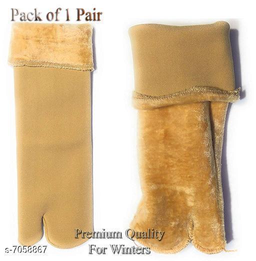 Stylish Woolen Velvet Socks
