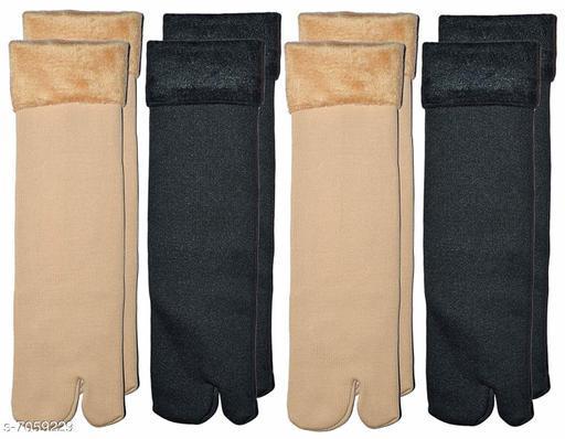 Classy Woolen Velvet Socks