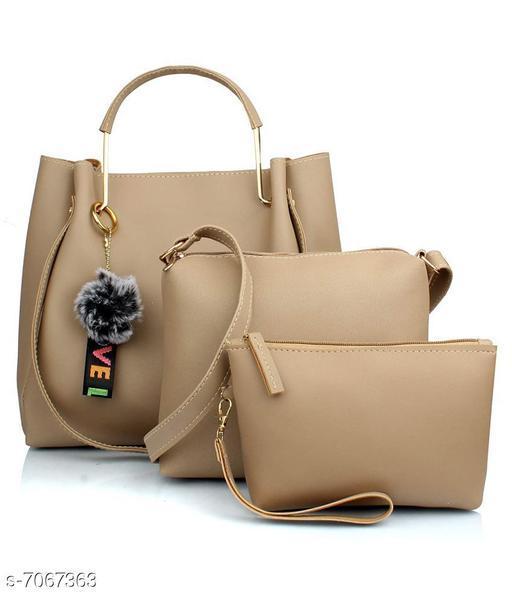 Beautiful Women's Cream Handbag