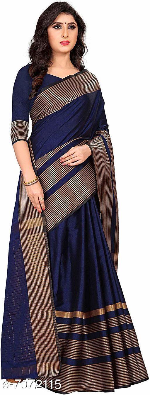 Trendy  Cotton Silk  Sarees