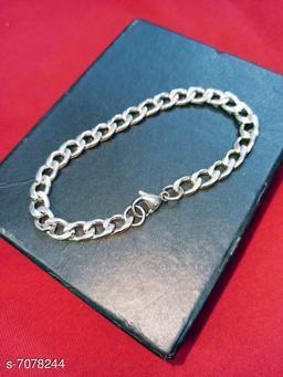 Trendy Men's Silver Chain
