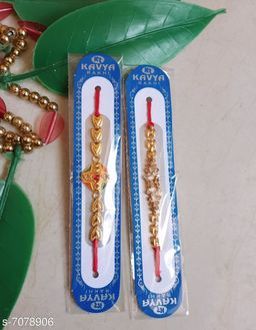 Designer Crafts Special Rajasthani Moti Thread Rakhi