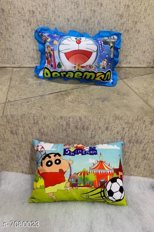 Cartoon printed fiber pillow