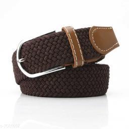Winsome Deal  Canvas Brown Regular Belt for Men's