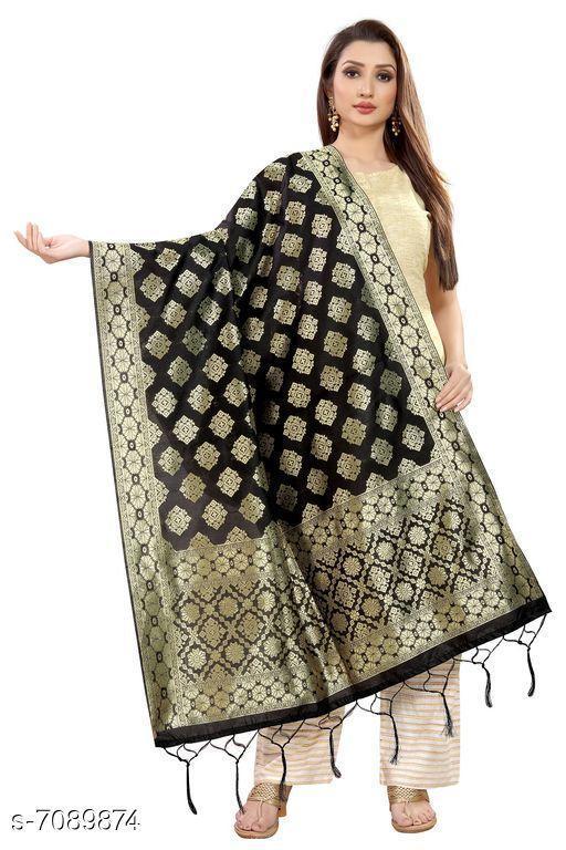 Clothing Set Baby night suit  *Fabric* Banarasi Silk  *Pattern * Printed  *Multipack * 1  *Size * Free Size ( Length Size  *Sizes Available* Free Size *    Catalog Name: Elegant Banarasi Silk Women Dupatta CatalogID_1131507 C59-SC1182 Code: 974-7089874-