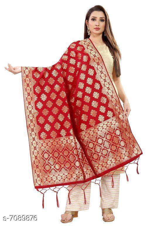Clothing Set Baby night suit  *Fabric* Banarasi Silk  *Pattern * Printed  *Multipack * 1  *Size * Free Size ( Length Size  *Sizes Available* Free Size *    Catalog Name: Elegant Banarasi Silk Women Dupatta CatalogID_1131507 C59-SC1182 Code: 974-7089876-