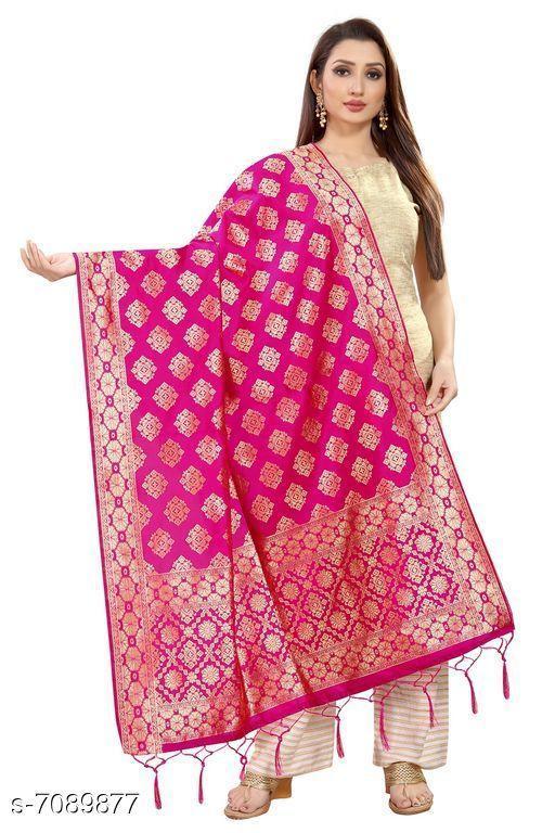 Clothing Set Baby night suit  *Fabric* Banarasi Silk  *Pattern * Printed  *Multipack * 1  *Size * Free Size ( Length Size  *Sizes Available* Free Size *    Catalog Name: Elegant Banarasi Silk Women Dupatta CatalogID_1131507 C59-SC1182 Code: 974-7089877-