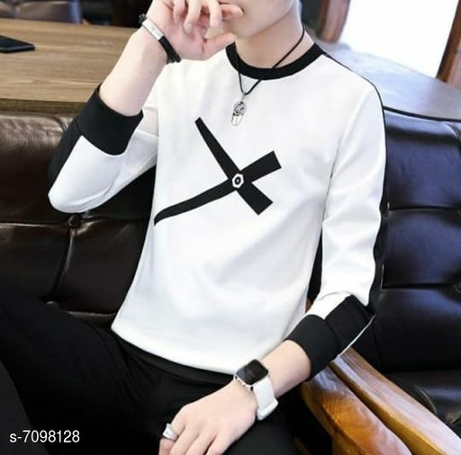Stylesmyth Best Selling Full Sleeeves T shirt for man (Colourblock/printed tshirt)