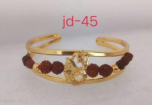 Jewellery Bracelet  *Base Metal* Alloy  *Multipack* 1  *Sizes*   *Sizes Available* Free Size *    Catalog Name: Styles Unique Men Jewellery CatalogID_1133611 C65-SC1227 Code: 742-7102381-