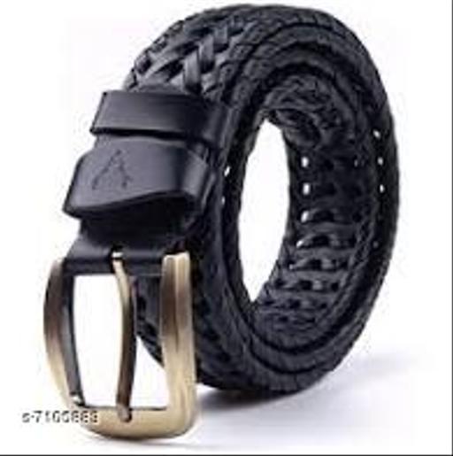 Samm & Moody Designer Pure Leather Woven Belts For Men/Boys