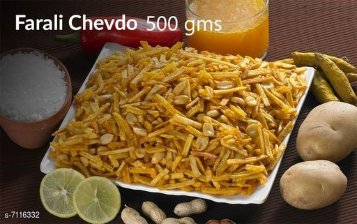 Dals & Pulses Farali Chavdo 500gms Farali Chavdo 500gms  *Sizes Available* Free Size *    Catalog Name: Check out this trending catalog CatalogID_1135975 C89-SC1770 Code: 906-7116332-