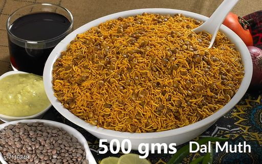 Dals & Pulses Dal Muth 500gms Dal Muth 500gms  *Sizes Available* Free Size *    Catalog Name: Check out this trending catalog CatalogID_1135975 C89-SC1770 Code: 906-7116348-
