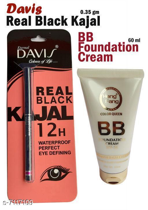 Eye Care Davis Real Black Kajal   *Shade* Black  *Add On* Bb Cream  *Type* Pencil  *Multipack* 2  *Dispatch* 2-3 Days  *Sizes Available* Free Size *    Catalog Name:  Superior Stylish Kajal CatalogID_1136087 C82-SC1303 Code: 922-7117109-