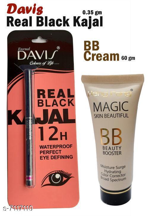 Eye Care Davis Real Black Kajal   *Shade* Black  *Add On* Bb Cream  *Type* Pencil  *Multipack* 2  *Dispatch* 2-3 Days  *Sizes Available* Free Size *    Catalog Name:  Superior Stylish Kajal CatalogID_1136087 C82-SC1303 Code: 922-7117110-