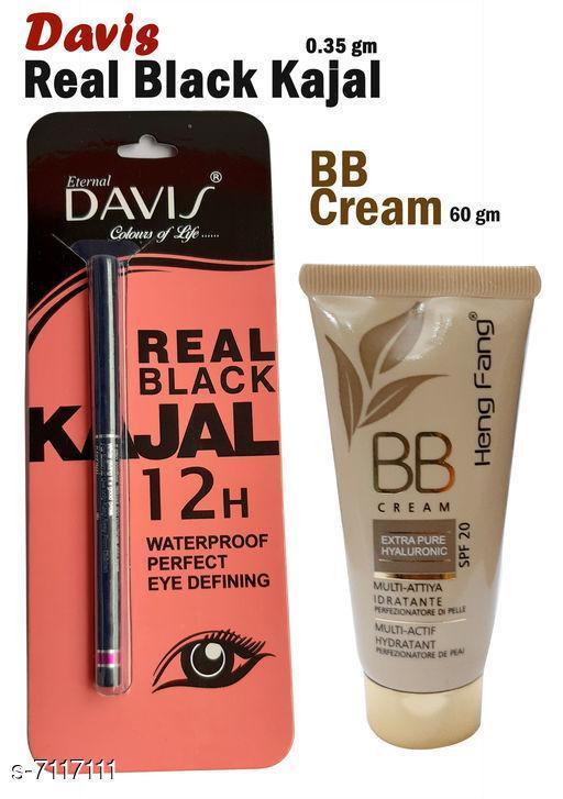 Eye Care Davis Real Black Kajal   *Shade* Black  *Add On* Bb Cream  *Type* Pencil  *Multipack* 2  *Dispatch* 2-3 Days  *Sizes Available* Free Size *    Catalog Name:  Superior Stylish Kajal CatalogID_1136087 C82-SC1303 Code: 922-7117111-